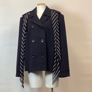 HIRSCH Jacket, with scarf, size 16